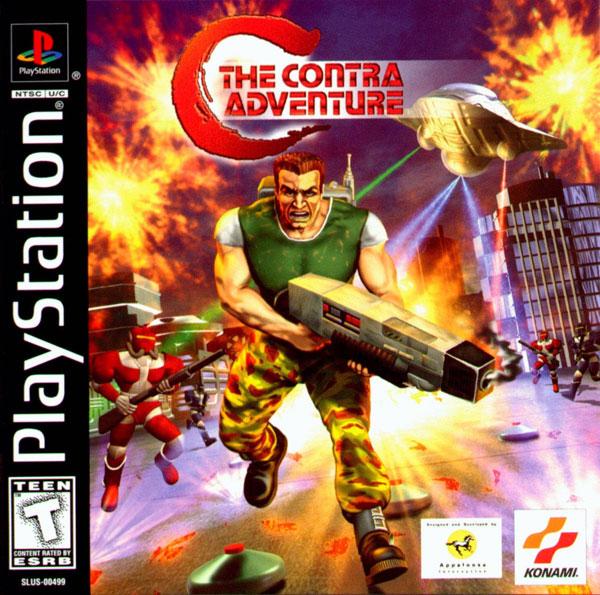 Resultado de imagen para Contra Adventure psx